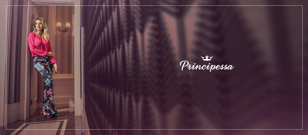 blusa feminina pink principessa aika conceito