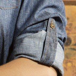 camisa feminina jeans principessa brena