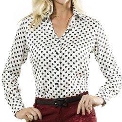 camisa feminina acetinado helo principessa detalhe corpo