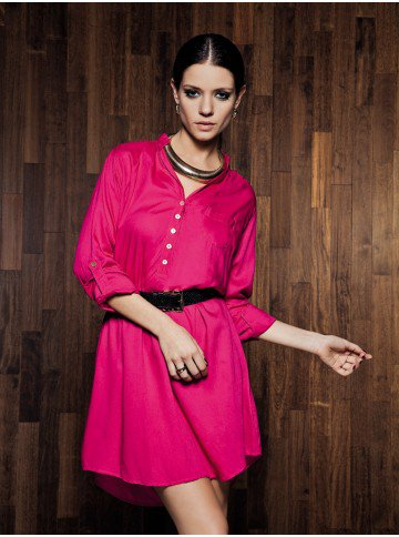 vestido feminino rosa principessa ana cristine corpo