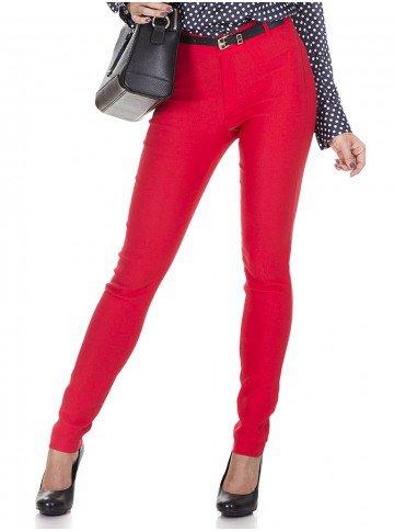 calca vermelha principessa skynni geralda