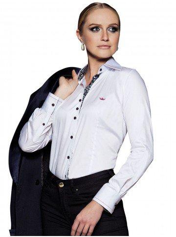 camisa branca feminina kassia
