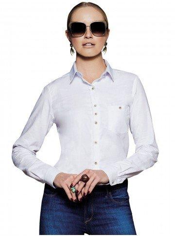 camisa feminina branca principessa nancy