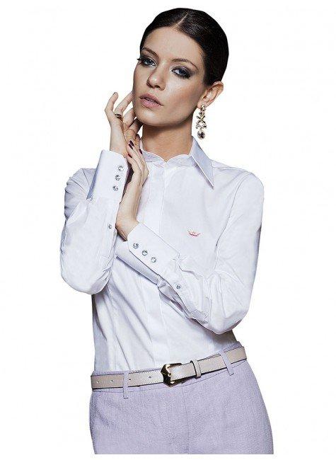 camisa principessa diane de fio egipcio