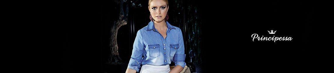 camisa jeans principessa nadja conceito