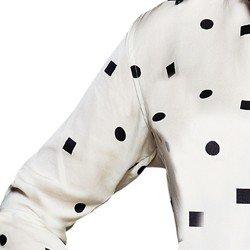camisa estampada geometrica feminina principessa dakota