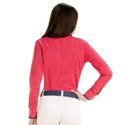 camisa feminina social principessa detalhe look costa