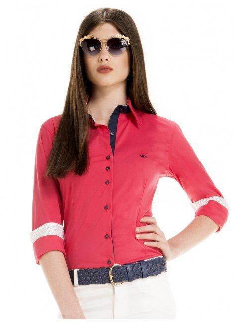 camisa feminina tabita cereja principessa