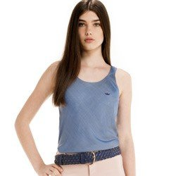 detalhe regata jeans feminina principessa rozane look