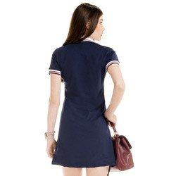 detalhes vestido polo estiloso verao marinho principessa juliete modelagem