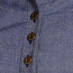 detalhes vestido jeans escuro moderno principessa otilia botao
