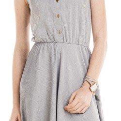 detalhe vestido jeans principessa olivia elastico