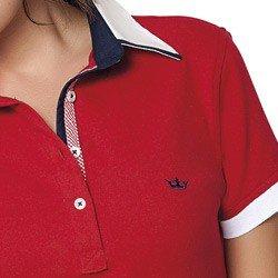 vestido polo vermelho lizete detalhes