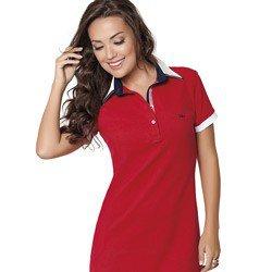 vestido polo vermelho lizete detalhes look