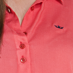camisa cropped feminino principessa vitoria detalhe triplos