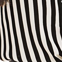 detalhe listras blusa feminina elizete