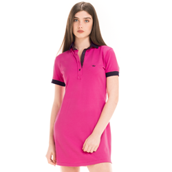 detalhe vestido pink marinho feminino principessa andrieli look