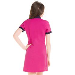 detalhe vestido pink marinho feminino principessa andrieli look modelagem