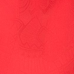 detalhe blusa laranja safira tecido
