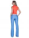 camisa regata laranja feminina principessa annie social look completo costa