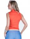 camisa regata laranja feminina principessa annie social look costa