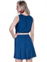 vestido decote transpassado marinho principessa ketrim look costa