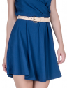 vestido decote transpassado marinho principessa ketrim saia