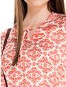 blusa decote v amarracao estampada principessa nane