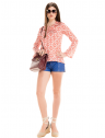 blusa decote v amarracao estampada principessa nane look completo