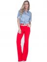 camisa estilosa principessa liane jeans claro look completo