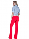 camisa estilosa principessa liane jeans claro look completo costa