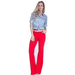 detalhe descricao camisa estilosa jeans claro principessa liane look completo