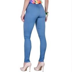 detalhe calca bengaline jeans look modelagem