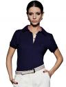 camisa blusa polo feminina marinho principessa mariane