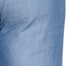 calca flare jeans leve com brilho wisla tecido brilho