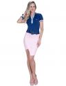 blusa polo feminina principessa nicole marinho look completo