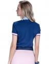 blusa polo feminina principessa nicole marinho look costa