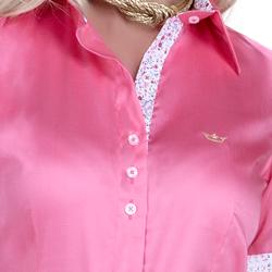 detalhe camisa exclusiva social feminina principessa sineide fio egipcio bota triplo