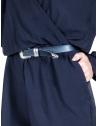 detalhe cinto feminino preto couro sintetico principessa itallia usar com macacao