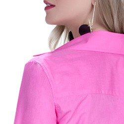 detalhe camisa social feminina premium principessa norah detalhes acabamento