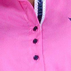 detalhe camisa social feminina premium principessa norah triplo