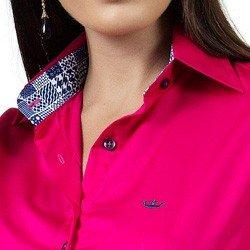 detalhe camisa social pink feminina principessa danny