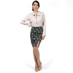 blusa feminina com laco principessa geyse look detalhe look completo comprar