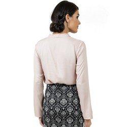 blusa feminina com laco principessa geyse look detalhe modelagem