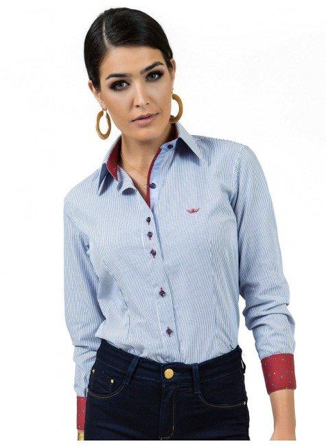 camisa feminina premium principessa cleusa look