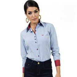 detalhe camisa feminina premium principessa cleusa look