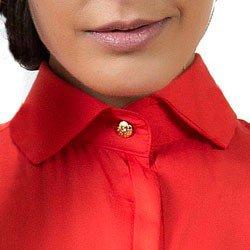 camisa feminina classica principessa doris colarinho alinhado