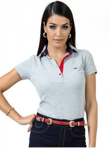 Camisa Social Feminina Principessa - Loja Principessa 8688873860334