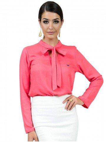 blusa feminina com laco principessa maira look