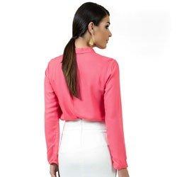 blusa feminina com laco principessa maira look detalhe modelagem